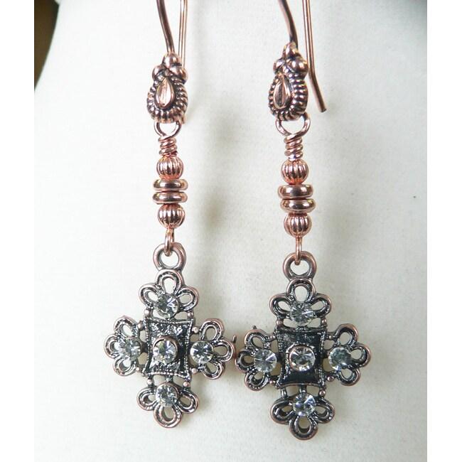 'Jordyn' Copper Earrings