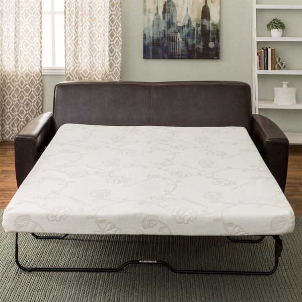 InnerSpace 4.5-inch Foam Sofa Sleeper Mattress
