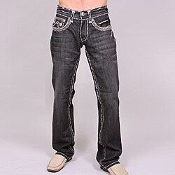 Laguna Beach Men's 'Hermosa Beach' Black Wash Jeans