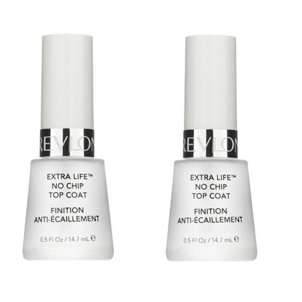 Revlon Extra Life No Chip Top Coat 950 for Nails (Pack of Four)