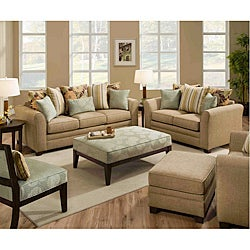 Simmons Upholstery Beautyrest Avignon Drift Loveseat