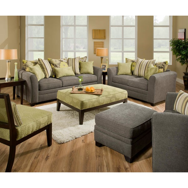 Beautyrest Avignon Charcoal Loveseat 14351396