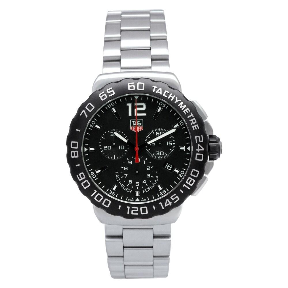 Tag Heuer Men's CAU1110.BA0858 Formula 1 Chronograph Watch