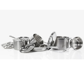Cat Cora 10-piece Stainless Steel Cookware Set