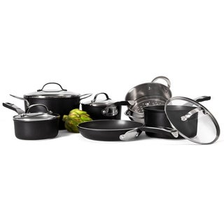 Cat Cora Black 10-piece Cookware Set