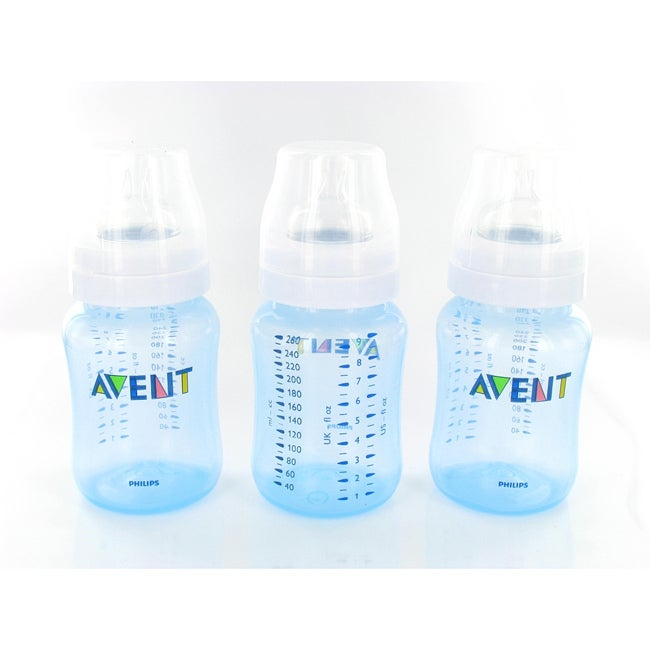 Philips Avent Blue 9-ounce BPA-free Natural Feeding Bottles (Pack of 3) at Sears.com