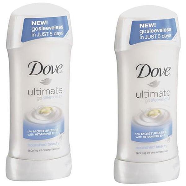 Dove Ultimate Go Sleeveless Deodorant (Pack of 4)