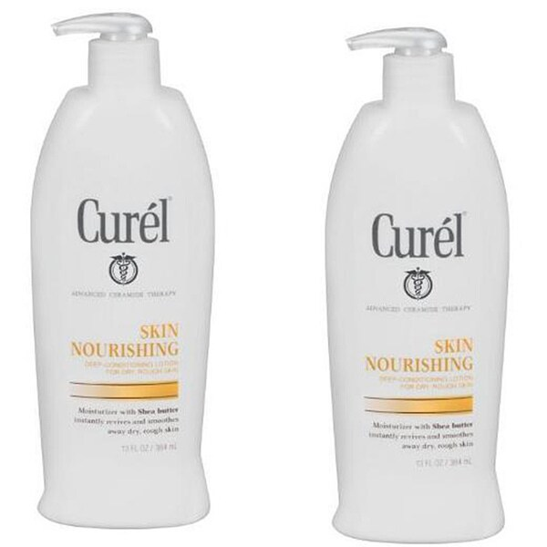 Curel Skin Nourishing Dry Rough Skin 16.25-ounce Lotion (Pack of 4)