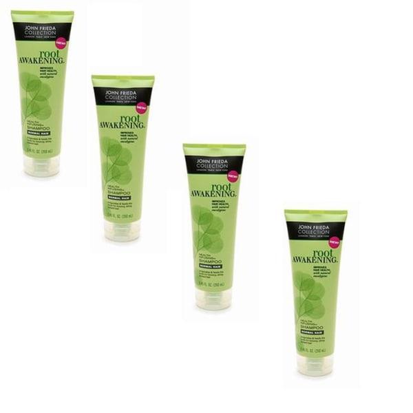 John Frieda Root Awakening 11-ounce Shampoo (Pack of 4)