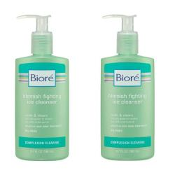Biore Blemish Fighting 6.7-ounce Ice Cleanser (Pack of 4)
