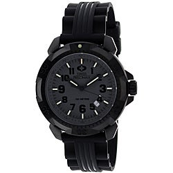 Swiss Precimax Men's SuperNova Black Dial Watch