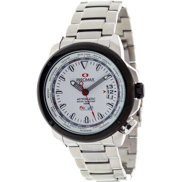 Precimax Men's Tour Automatic Stainless Steel Watch