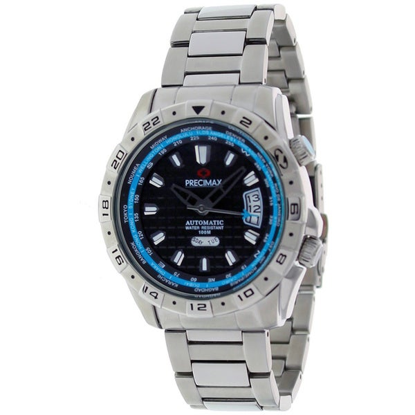Precimax Men's Traveler Automatic Stainless Steel Watch