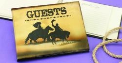 Western Guest Book