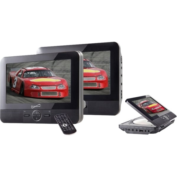 "Supersonic SC-198 Car DVD Player - 7"" LCD"