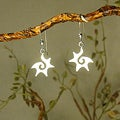 Jewelry by Dawn Starburst Sterling Silver Earrings