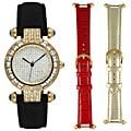 Steve Harvey Women's Goldtone 3-piece Watch