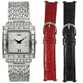 Steve Harvey Women's Square Watch Set