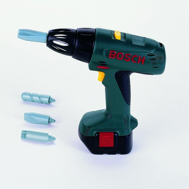 Theo Klein Bosch Toy Drill with Flashing Lights and Real Action Sounds