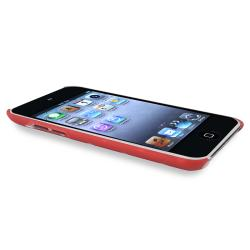 BasAcc Red Case/ Protector/ Headset for Apple iPod Touch Generation 4