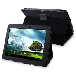 Black Leather Case for Asus EEE Pad Transformer TF300T