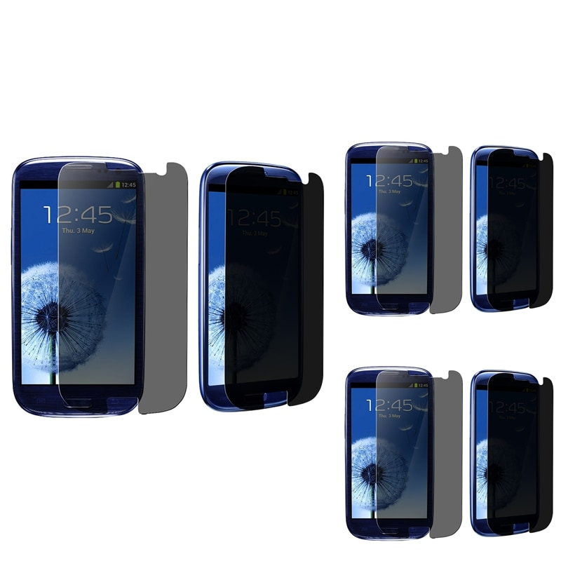 INSTEN Privacy Filter for Samsung Galaxy S III i9300 (Pack of 3)