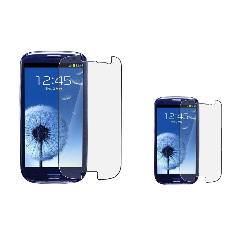 INSTEN Anti-glare Screen Protector for Samsung Galaxy S III i9300 (Pack of 2)