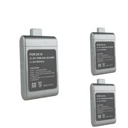 INSTEN Compatible Li-ion Battery for Dyson DC16 (Pack of 3)