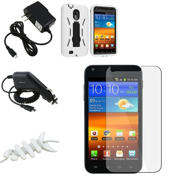 Case/ Screen Protector/ Chargers/ Wrap for Samsung Epic 4G Touch D710