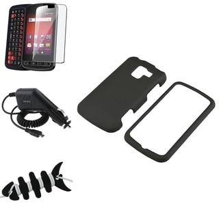Case/ Screen Protector/ Wrap/ Car Charger for LG Optimus Slider LS700