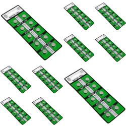 BasAcc AG3 1.5-volt Alkaline Button-cell Battery (Pack of 10)