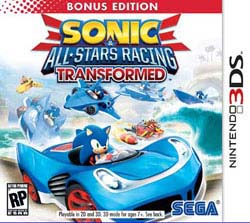 Nintendo 3DS- Sonic & All-star Racing Transformed Bonus Edition