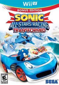 Sonic & All-Stars Racing Transformed Bonus Edition Wii U