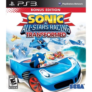 PS3 - Sonic & All-Stars Racing Transformed