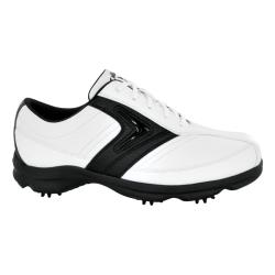 Callaway Men's C-Tech Saddle White/ Black Golf Shoes