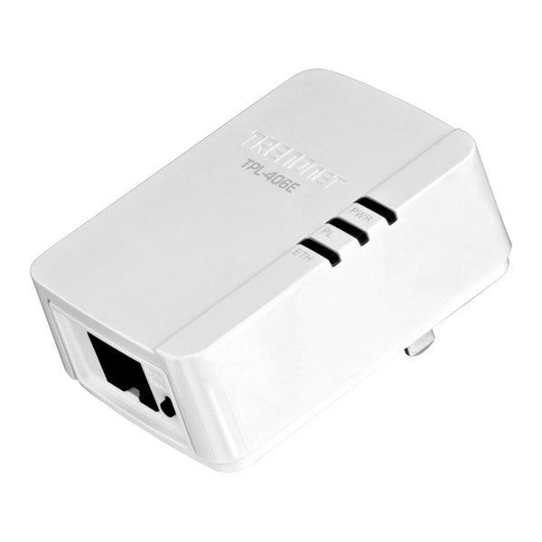 TRENDnet 500 Mbps Compact Powerline AV Adapter