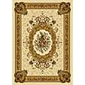 Ivory Contemporary Heat-Set Rug (7'8 x 10'4)