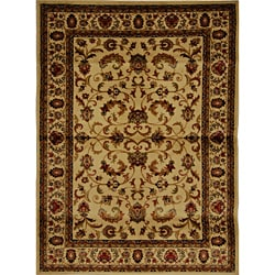 Contemporary Ivory Heat-Set Rug (7'8 x 10'4)