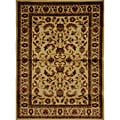 Contemporary Ivory Heat-Set Rug (5'2 x 7'2)