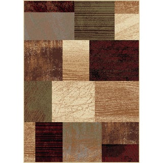 Elegance Collection Red Area Rug (5' x 7')
