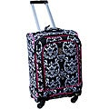 Jenni Chan Damask 360 Quattro 21-inch Hot Pink Spinner Upright