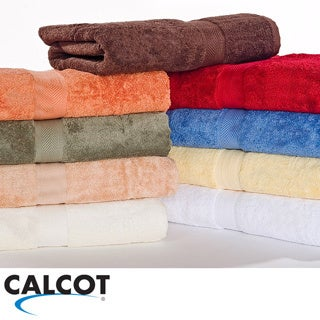 Calcot Supima Cotton 3-piece Solid Bath Towel Set