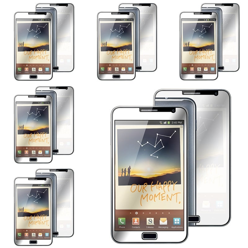 INSTEN Mirror Screen Protector for Samsung Galaxy Note N7000 (Pack of 6)