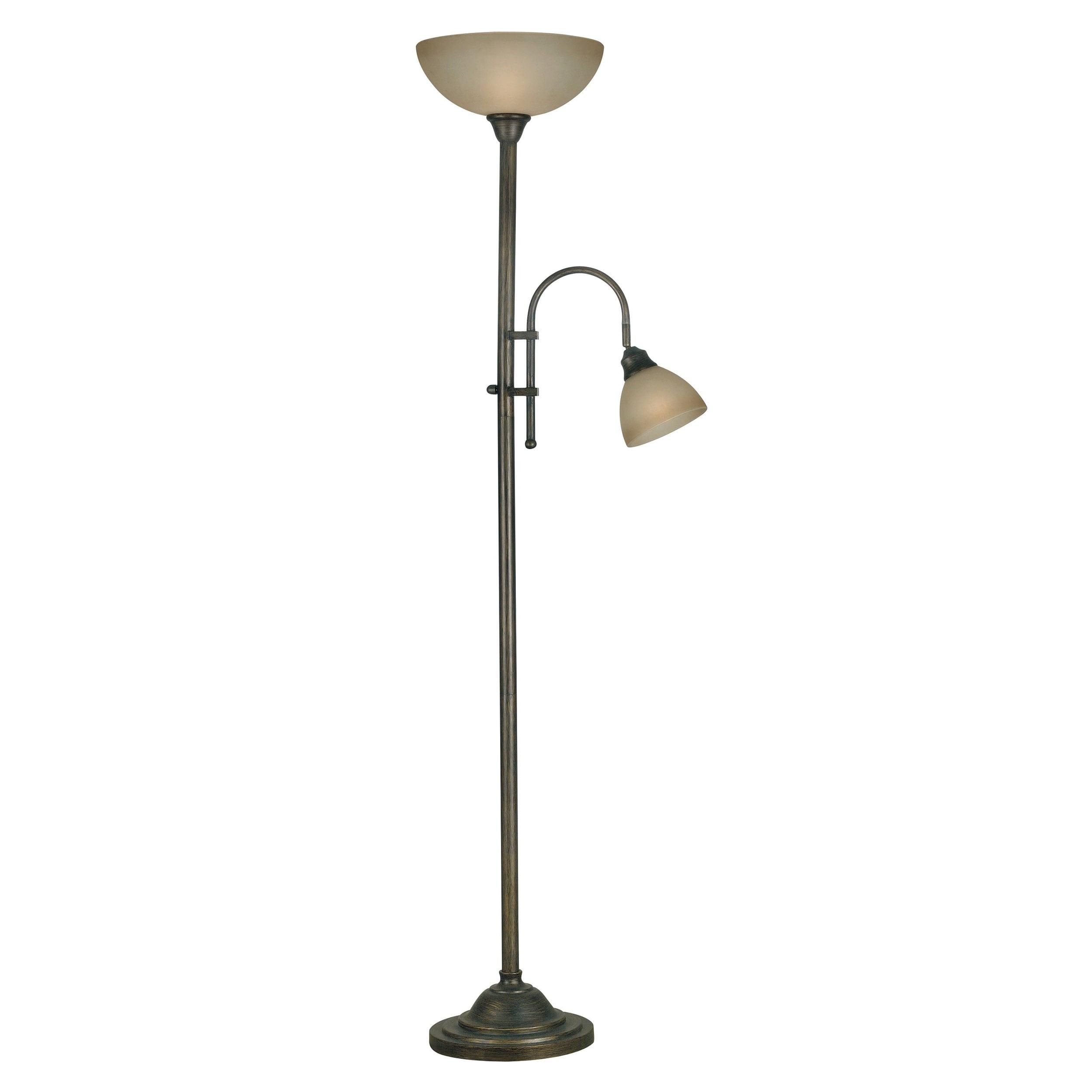 shopping great deals on design craft floor lamps. Black Bedroom Furniture Sets. Home Design Ideas
