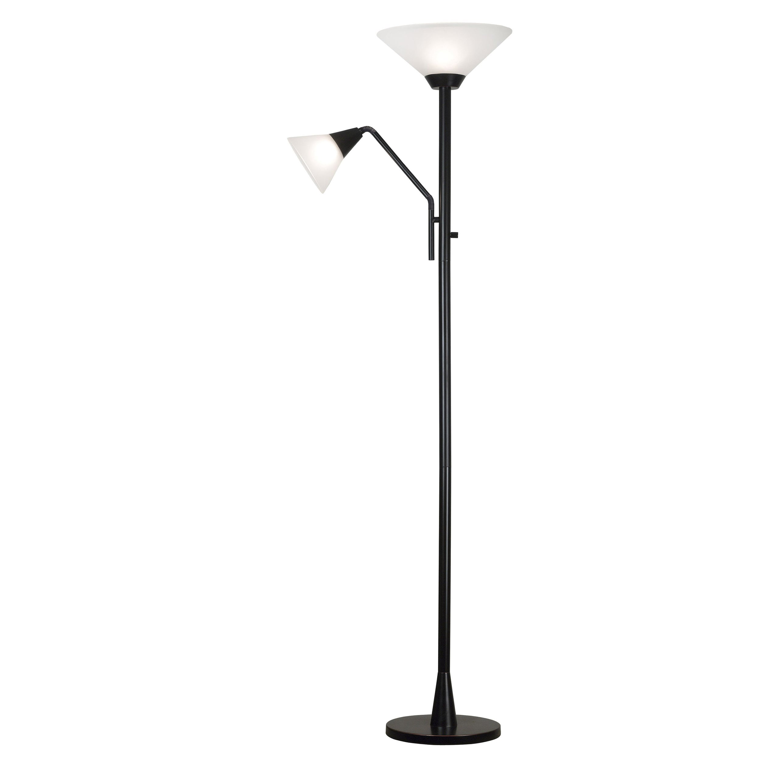 Rowe 2-light Oil Rubbed Bronze Torchiere