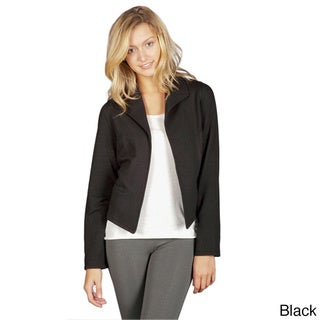AtoZ Women's Cropped Layering Jacket