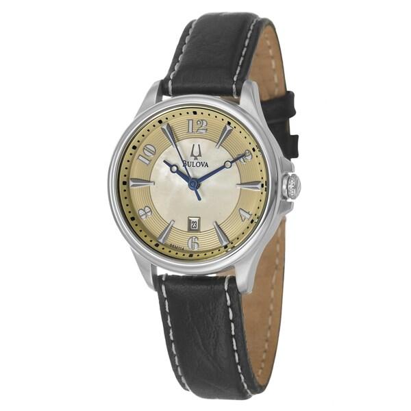 Bulova Women's 'Adventurer' Stainless Steel Quartz Watch