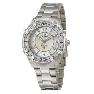 Bulova Women's 96L145 'Marine Star' Stainless Steel Quartz Watch