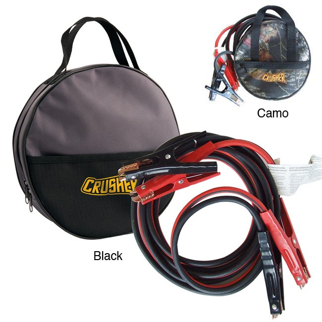 Extra Heavy-duty 16-foot Jumper Cables with Polyester Carry Bag