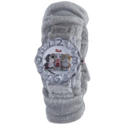 Trudi Kids' Gray Fur Watch